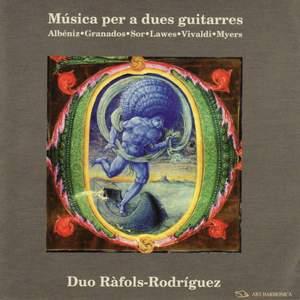 Music for two guitars - Albéniz, Granados, Sor, Lawes, Vivaldi, Myers