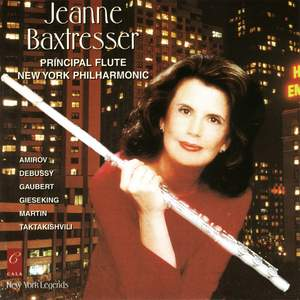 Jeanne Baxtresser plays Taktakishvili, Martin, Gieseking, Gaubert, Amirov and Debussy