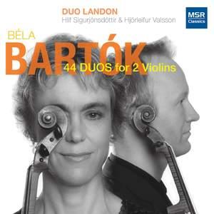 Béla Bartók: 44 Duos for Two Violins, Sz. 98