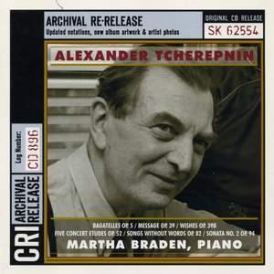 Alexander Tcherepnin: Piano Works