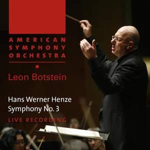 Henze, H: Symphony No. 3 Product Image