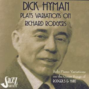 Dick Hyman Plays Variations On Richard Rodgers: Rodgers & Hart Product Image