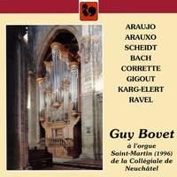 Guy Bovet à l'orgue Saint-Martin de la Collégiale de Neuchâtel