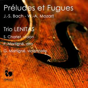 Mozart: Preludes and Fugues K404a Product Image