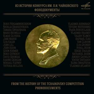 From the History of the Tchaikovsky Competition: Phonodocuments Product Image