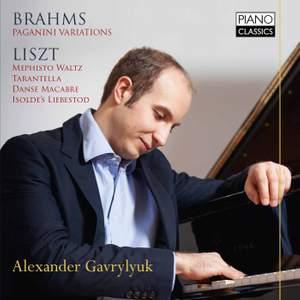 Alexander Gavrylyuk plays Brahms & Liszt