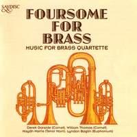 Foursome for Brass - music for brass quartette