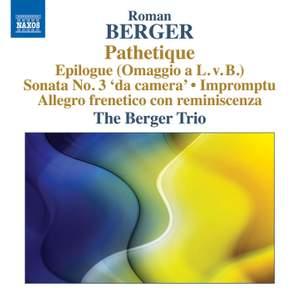 Roman Berger: Pathetique Product Image