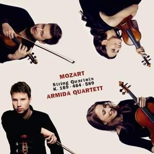 Mozart: String Quartets K169, K464 & K589