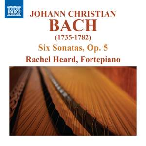 JC Bach: 6 Keyboard Sonatas, Op. 5 Product Image