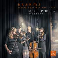 Brahms: String Quartets Nos. 1 & 3