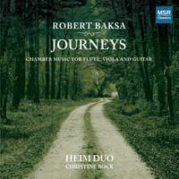 Journeys: Chamber Music for Flute, Viola and Guitar
