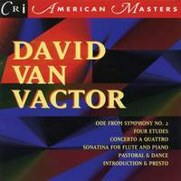 Music of David Van Vactor