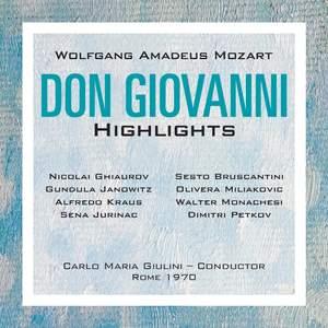Mozart: Don Giovanni, K527 (highlights)