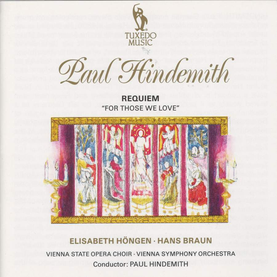 Hindemith: When Lilacs Last in the Dooryard Bloom'd - Requiem for those we  love - Tuxedo: TUXCD1061 - download   Presto Classical