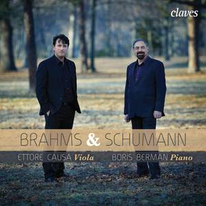 Brahms & Schumann: Transcriptions for Viola & Piano Product Image