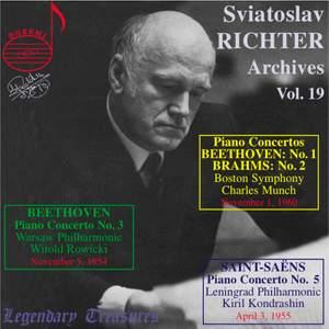 Richter Archives Vol. 19 Boston Sym. debut 11/60