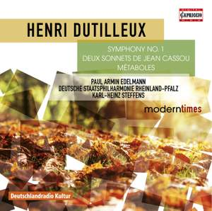 Dutilleux: Symphony No. 1, 2 Sonnets de Jean Cassou & Métaboles