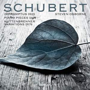 Schubert: Impromptus, Piano pieces & Variations Product Image