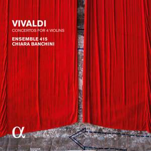 Vivaldi: Concertos for Four Violins, Op.3 Product Image