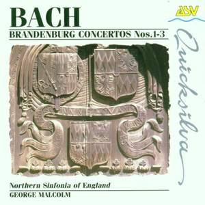 JS Bach: Brandenburg Concertos Nos. 1-3