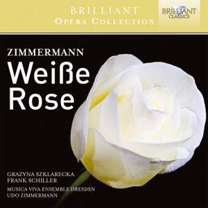 Zimmermann, U: Weisse Rose Product Image
