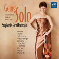 Going Solo: Unaccompanied Works for Violin and Viola