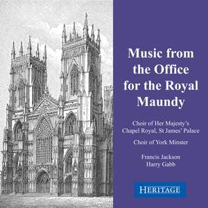 Music from the Office for the Royal Maundy
