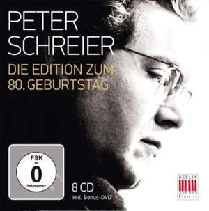 Peter Schreier - The 80th Birthday Edition