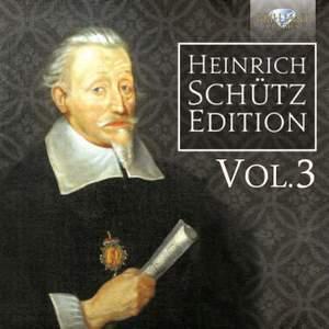 Heinrich Schutz Edition, Vol. 3 Product Image