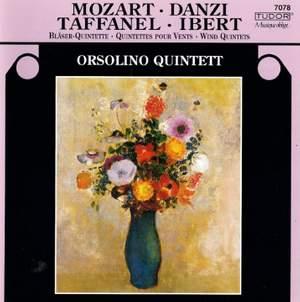 Mozart, Danzi, Taffanel & Ibert: Wind Quintets