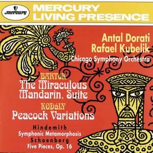 Hindemith, Schoenberg, Bartók & Kodály: Orchestral Works