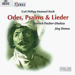 CPE Bach: Odes, Psalms & Lieder