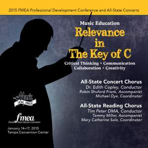 2015 Florida Music Educators Association (FMEA): All-State Concert Chorus & All-State Reading Chorus [Live]