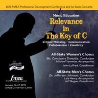2015 Florida Music Educators Association (FMEA): All-State Women's Chorus & All-State Men's Chorus [Live]