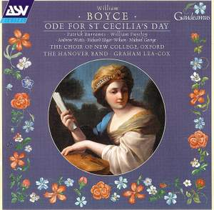Boyce: Ode for St Cecilia's Day Product Image