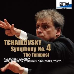 Tchaikovsky: Symphony No. 4 & The Tempest Product Image