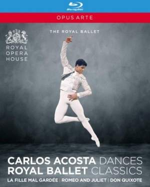 Carlos Acosta Dances: Royal Ballet Classics Product Image