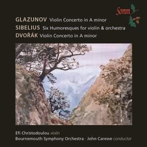 Glazunov, Sibelius & Dvorak: Works for Violin & Orchestra Product Image