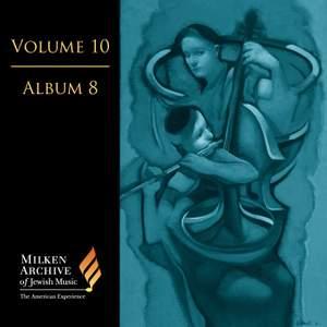 Volume 10, Album 8 - Bloch, Milhaud etc