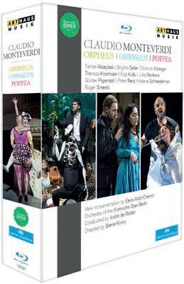 Monteverdi: Orpheus, Odysseus & Poppea