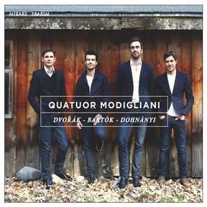 Quatuor Modigliani play Dvorak, Bartók & Dohnányi