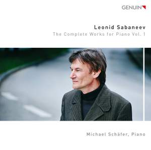Sabaneev: The Complete Works for Piano, Vol. 1 Product Image