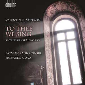 Valentin Silvestrov: To Thee We Sing Product Image