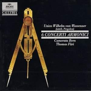 Wassenaer: Concerti Armonici Nos. 1-6 (formerly attributed to Pergolesi)