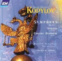 Kopylov: Symphony in C minor
