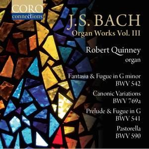 JS Bach: Organ Works Vol. III