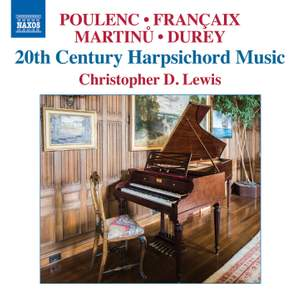 20th Century Harpsichord Music Product Image