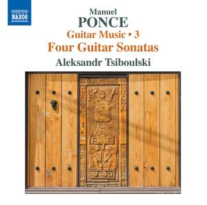 Ponce: Guitar Music, Vol. 3