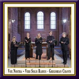 Veri solis radius: Gregorian Chants Product Image
